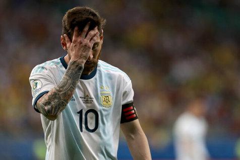 مسی: حذف شدن آرژانتین دیوانهکننده خواهد بود