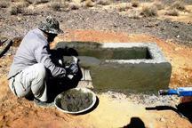 10 آبشخور در مناطق تحت حفاظت محیط زیست اصفهان ساخته شد