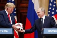 در توپی که پوتین به ترامپ هدیه داد چه بود؟