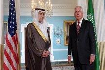 دیدار وزرای خارجه آمریکا و عربستان در واشنگتن