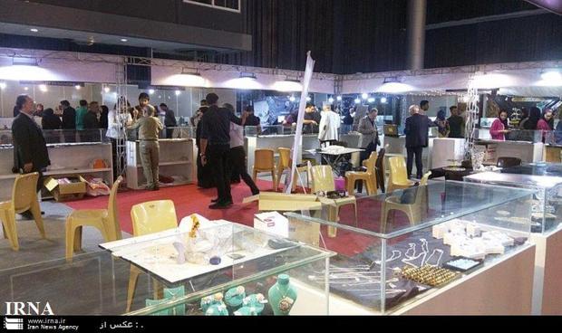 نمایشگاه بین المللی طلا و جواهر کیش گشایش یافت