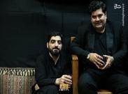 سالار عقیلی در هیات مداح سرشناس تهران+ عکس