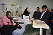 استاندار یزد از بیمارستان حکیم بهابادی بهاباد بازدید کرد
