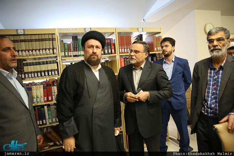 بازدید سید حسن خمینی از موسسه فرهنگی اکو