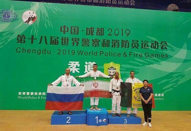 جودوکار شیروانی نشان طلای مسابقات جهانی پلیس را کسب کرد