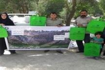 گرامیداشت روز جهانی بدون نایلکس درنورآباد با همکاری تشکلهای زیست محیطی