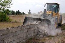 178 هکتار از اراضی ملی در دلگان رفع تصرف شد