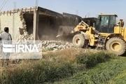 ۱۴۱۶ مورد ساختوساز غیرمجاز در دماوند تخریب شد