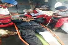 نجات کوهنورد مصدوم برازجانی با بالگرد از ارتفاعات قله سیالان تنکابن