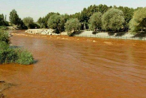 تاثیر تغییر رنگ زاینده رود بر محصولات کشاورزی اصفهان