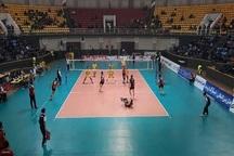 پیروزی تیم والیبال شهرداری ارومیه مقابل ساروی ها