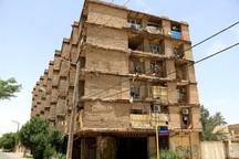 هشدار تخلیه به 50 خانوار ساکن یک مجتمع مخروبه در خرمشهر