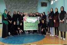 70 بانوی ایرانشهری در کلاس مربیگری آمادگی جسمانی شرکت کردند