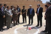 ساخت یک واحد آموزشی با 12 کلاس درس در مهریز آغاز شد