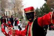 سومین مرحله جشنواره عمو نوروز در قزوین برگزار شد