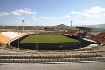 ساخت ورزشگاه 15 هزار نفری عدالت ایلام 92 درصد پیشرفت دارد