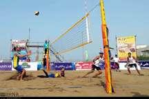 والیبالیست های گلستان قهرمان تور ساحلی بندرعباس شدند