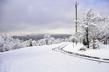 بارش برف و وزش باد شدید برای البرز پیش بینی شد