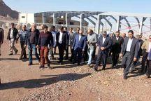وزیر ورزش و جوانان از پروژه های ورزشی یزد بازدید کرد