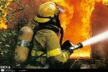 کارگاه تاسیساتی در تهران طعمه حریق شد