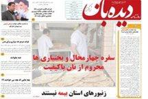 روزنامه دیده بان: زنبورهای استان بیمه نیستند