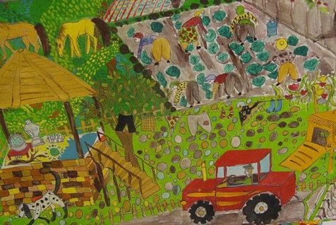 جایزه 4 کودک ایرانی از نمایشگاه نقاشی ژاپن
