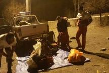 عملیات امدادی برای نجات دو کوهنورد در قله شیرباد