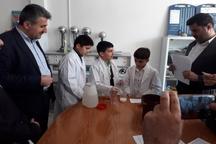 600 دانش آموز در مسابقات آزمایشگاهی مدارس سردشت شرکت کردند