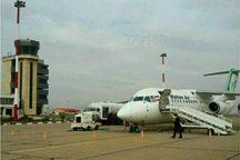 نخستین پرواز بین المللی فرودگاه شاهرود انجام شد
