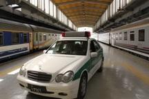نیروی پلیس در ایستگاه راهآهن جندق مستقر میشود