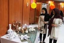 نمایشگاه صنایع دستی نگارین در آستارا بر پا شد