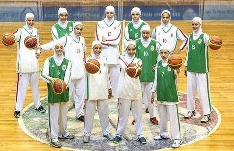 بسکتبال زنان ایران در جایگاه هفتاد و ششم دنیا