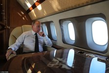 تصاویر/ گشتی داخل «قصر هوایی» لوکس پوتین