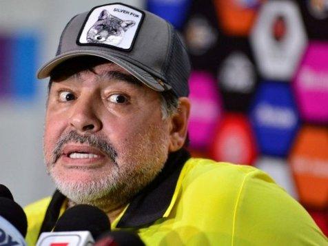 توصیه پزشکی دلیل رفت جدایی دیگو مارادونا از تیم مکزیکی