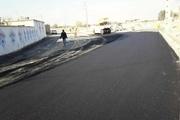 عملیات آسفالت کوی زیباشهر دزفول آغاز شد