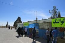 2 نمایشگاه نوروزی آثار هنرمندان ابرکوه برپا شد