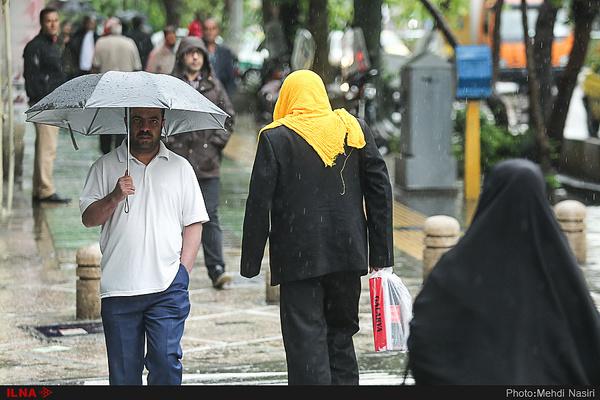 باران به شهرهای خوزستان جلوه تازه بخشید
