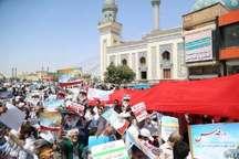 تقدیر شورای هماهنگی تبلیغات اسلامی قم از مردم برای حضور باشکوه در راهپیمایی روز قدس