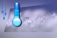 کاهش 7 درجه ای دمای هوا در چهارمحال و بختیاری