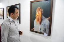 نمایشگاه هنرهای تجسمی در آبادان گشایش یافت