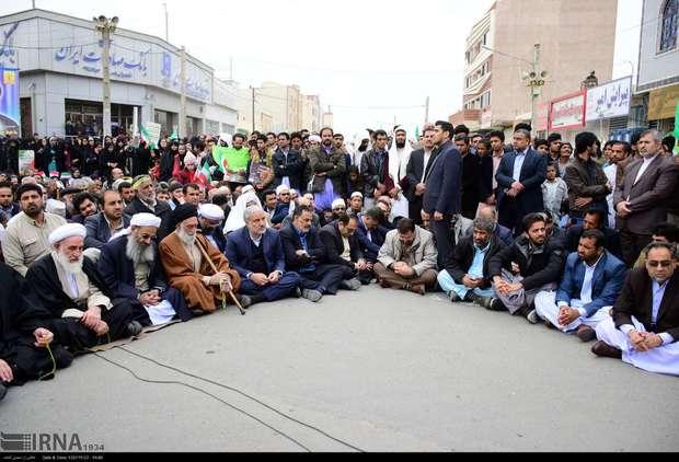 اقتدار، همبستگی و وحدت ملی در راهپیمایی 22 بهمن به نمایش درآمد