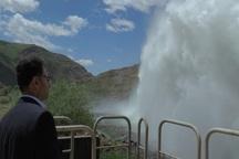 10 میلیون مترمکعب آب سد قلعه چای به دریاچه ارومیه رهاسازی شد
