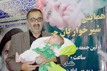 همایش شیرخوارگان حسینی در بهاباد برگزار شد