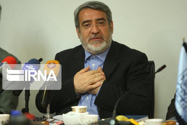 وزیر کشور از عملکرد استاندار البرز تقدیر کرد