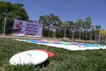 جشنواره ورزشی 'فریزبی' در ارومیه برگزار شد