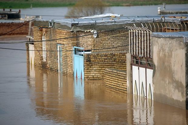 1685واحد مسکونی روستایی سنقر به دنبال بارندگی و برف آسیب دید