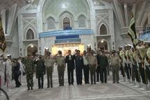 نیروهای مسلح با آرمان های امام راحل تجدید میثاق کردند