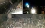 10 کشته در انفجار تالار عروسی در سقز + عکس