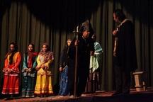 نمایش «اصلی و کرم» در میاندوآب به روی صحنه رفت