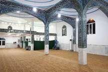 مسجد جامع شهر خور بازسازی شد